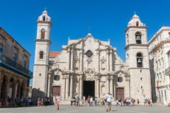 Plaza de la Catedral English: Cathedral Square is one of the f Stock Images