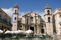 Plaza de la Catedral, Havana, Cuba Stock Image