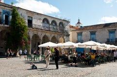 Plaza de la Catedral, Havana, Cuba Stock Images