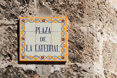 Plaza de la Catedral Stock Photo