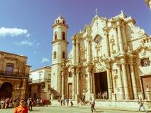 Plaza de la Catedral Inglês: O quadrado da catedral é um do f Fotos de Stock