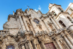 Plaza de la catedral in La Habana Royalty Free Stock Photos