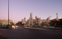 Plaza de la Cibeles Stock Photo
