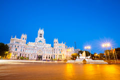 Plaza de la Cibeles Madrid Images libres de droits