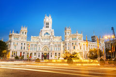 Plaza de la Cibeles Madrid Stock Photos