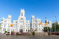 Plaza de la Cibeles Madrid Stock Image
