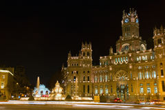 Plaza de la Cibeles, Madrid, Spain Stock Image
