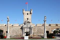 Plaza de la Constitucion, Cadiz Stock Image