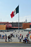 Plaza de la Constitucion in Mexico city Royalty Free Stock Images