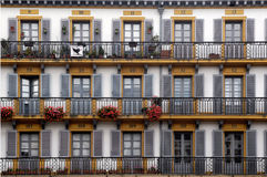 247 Plaza de la Constitucion, San Sebastian, Pais Basco Fotos de Stock