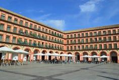 Plaza de la Corredera, Cordova fotografie stock