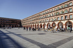 Plaza de la Corredera - Corredera-Quadrat in Cordoba Lizenzfreie Stockfotografie
