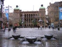 Plaza de la fuente Foto de archivo libre de regalías