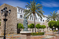 Plaza de la Iglesia in Old Town of Marbella Royalty Free Stock Photos