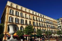 Plaza de la Mercaded, Histiric Building, Malaga, Spain Royalty Free Stock Image