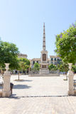 Plaza DE La Merced royalty-vrije stock afbeelding