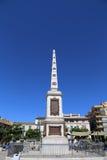 Plaza DE La Merced in Malaga, Andalusia, Spanje royalty-vrije stock fotografie