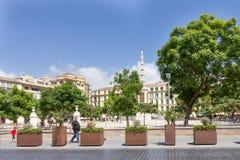 Plaza de la Merced. Stock Images