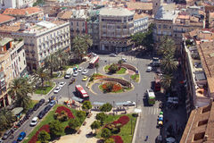 Plaza de la Reina Fotografie Stock