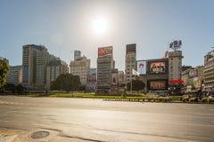 Plaza de la Republica Stock Images