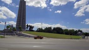Plaza de la Revolucin - cuadrado de la revolución - cuadrado en La Habana, Cuba - símbolo del comunism en Cuba metrajes