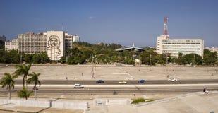 Plaza de la Revolucion, Havana, Cuba Stock Images