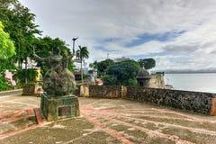 Plaza de la Rogativa, altes San Juan, Puerto Rico Stockfotografie