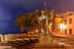 Plaza de la Rogativa, San Juan viejo, Puerto Rico Fotografía de archivo libre de regalías