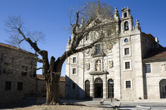 Plaza de la Santa Teresa in Avila. The Convento de Santa Teresa (Convent of St. Teresa) is the primary shrine of St. Teresa in Ávila. Located on the Plaza de la Stock Photos