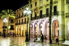 Free Plaza De La Vila By Night Royalty Free Stock Images - 103484709