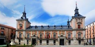Plaza de la Villa, Madrid royaltyfri fotografi