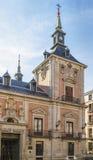 Plaza de la Villa, Madrid Royalty Free Stock Photos