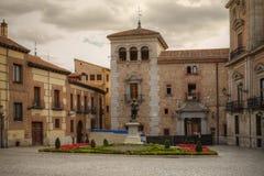 Plaza de la Villa, Madrid, Spain Royalty Free Stock Photos