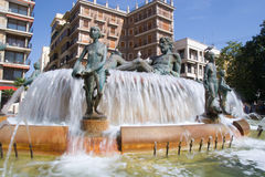 Plaza de la Virgen royalty free stock photo