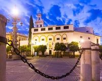 Plaza DE La Virgen DE los Reyes Sevilla, Spanje stock fotografie