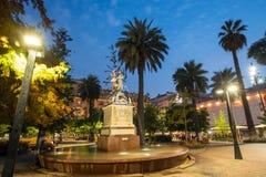 Plaza de las Armas πλατεία στο Σαντιάγο Στοκ Εικόνες