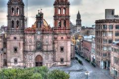 Plaza de las Armas, San Luis Potosi imagenes de archivo