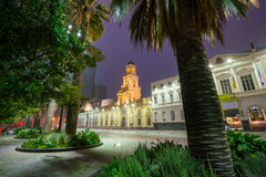Plaza de las Armas square in Santiago Stock Photography