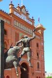 Plaza de Las Ventas de bullring de Madrid monumentale Images stock