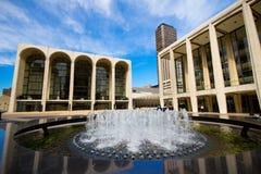 Plaza de Lincoln Center Photo stock