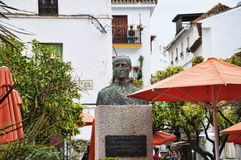 Plaza DE los Naranjas in Marbella op Costa Del Sol Andalucia, Spanje Royalty-vrije Stock Foto's