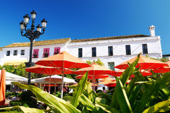 Plaza de los Naranjos Royalty Free Stock Photography