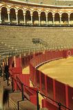 Plaza de los Toros in Seville in Spain Stock Photo