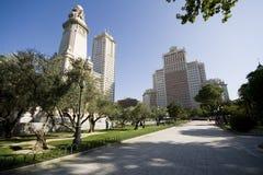 Plaza de Madrid stock image