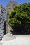 Plaza de Masca, Tenerife, Espanha fotos de stock royalty free