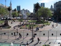 Plaza de Mayo Μπουένος Άιρες Αργεντινή Στοκ Φωτογραφία