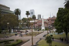 Plaza de Mayo, Μπουένος Άιρες, Αργεντινή Στοκ φωτογραφίες με δικαίωμα ελεύθερης χρήσης