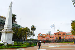 Plaza de Mayo - Μπουένος Άιρες - Αργεντινή Στοκ Φωτογραφίες