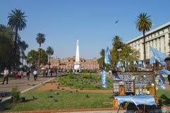 Plaza de Mayo - Μπουένος Άιρες - Αργεντινή Στοκ Εικόνες