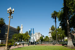 Plaza de Mayo - Μπουένος Άιρες - Αργεντινή Στοκ εικόνες με δικαίωμα ελεύθερης χρήσης